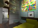 Conception module bois cloison niche alvéolaire-paris6