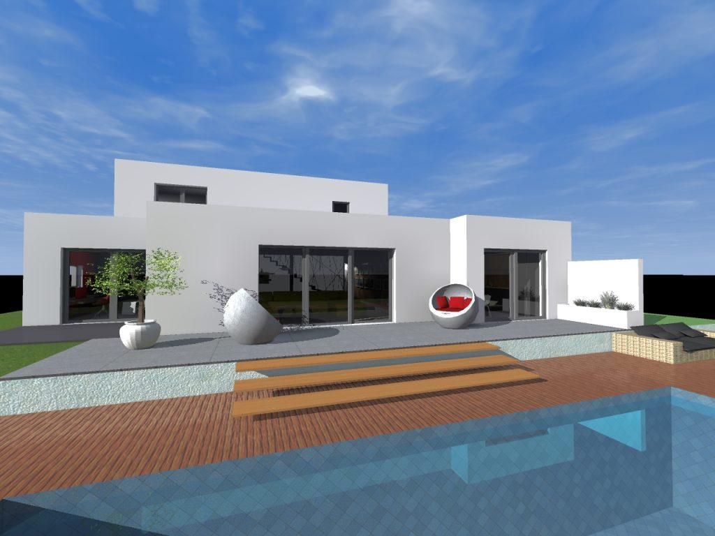 indie house création intérieur 3D