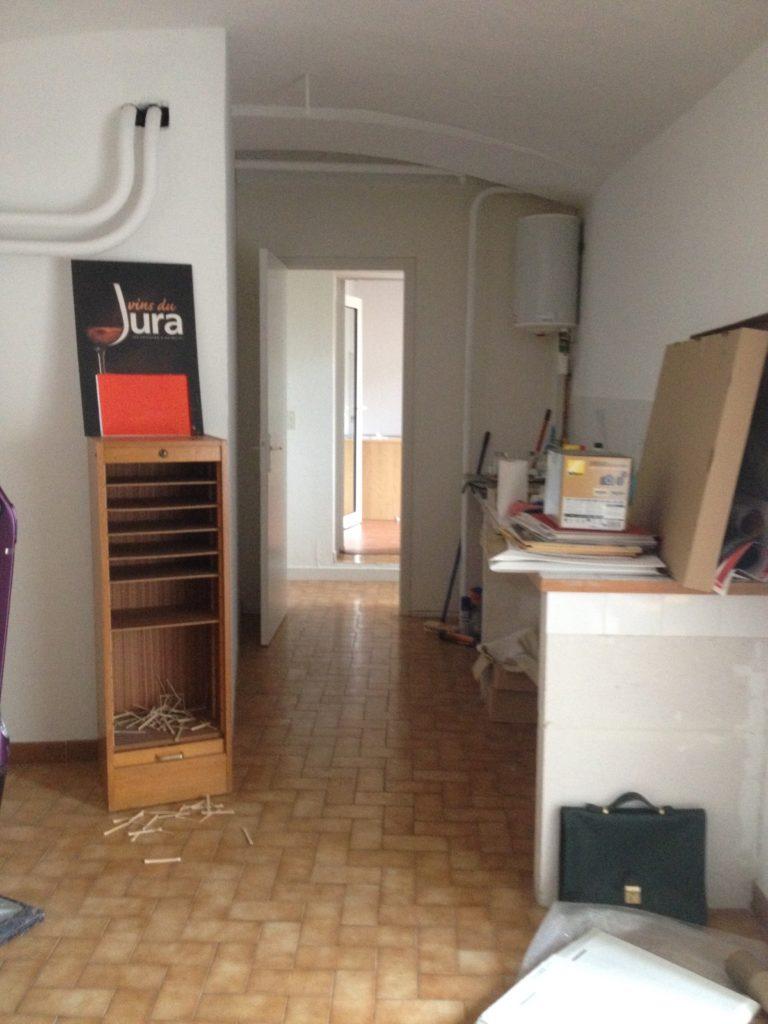 Rénovation de bureaux existant en institut de soin.