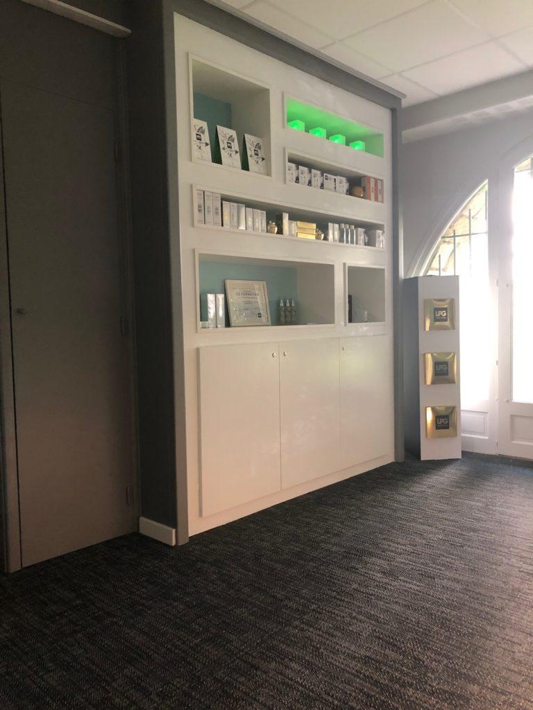 Rénovation de bureaux existant en institut de soinby Epure-KaZa